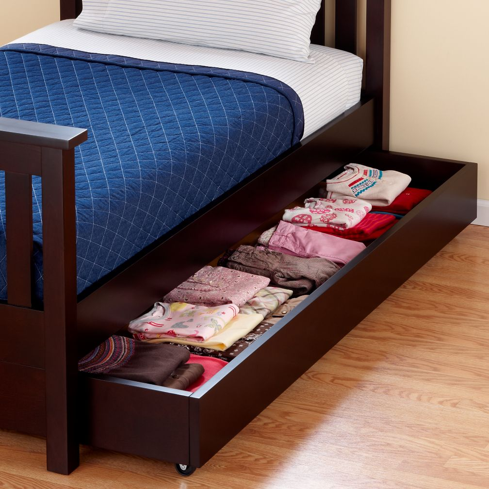 trundle without the mattress can be used for storage zizi pinterest kids s