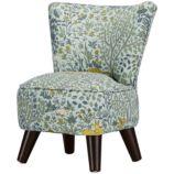Little Slipper Chair (Folkland Aquatint)