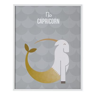 What's Your Sign Framed Wall Art (Capricorn)