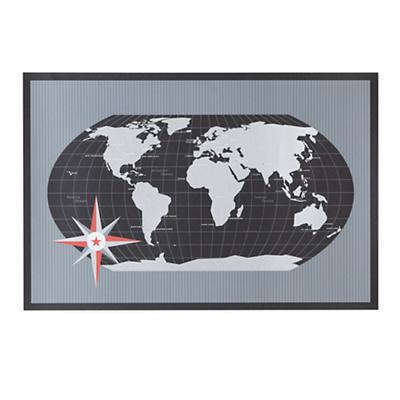 What a Wonderful World Wall Map (Black)