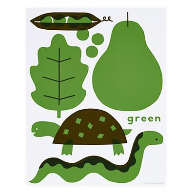 Hues You Can Use Unframed Wall Art (Green)