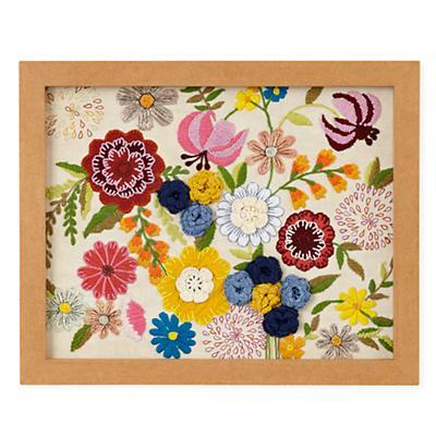 Natural History Framed Wall Art (Flowers)