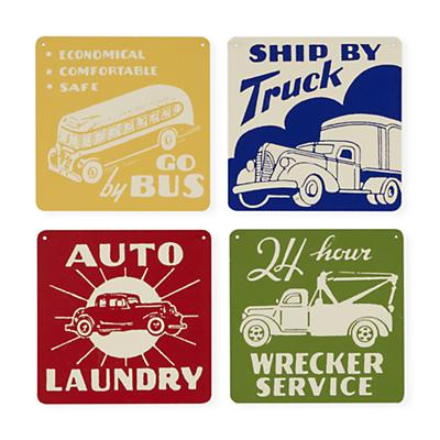 Set of 4 Signs