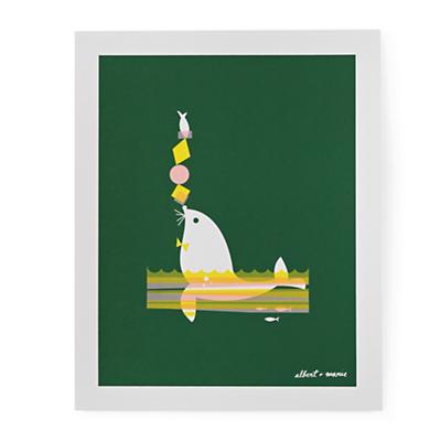 Albert + Marie Prints (Fish & Seal)