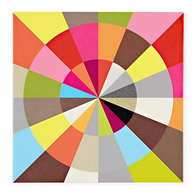 Wheel Of Color Wall Art