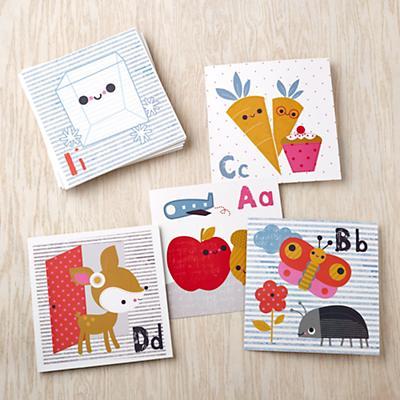 Alphabet Wall Cards by Jillian Phillips