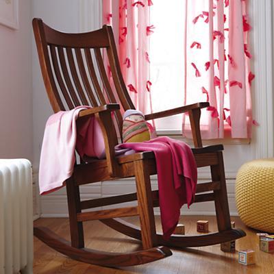 Knit Ombré Blanket (Pink)