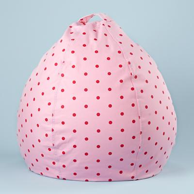 "30""  Bean Bag Cover (Pink Dots)"