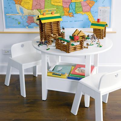 Bin Table (White)