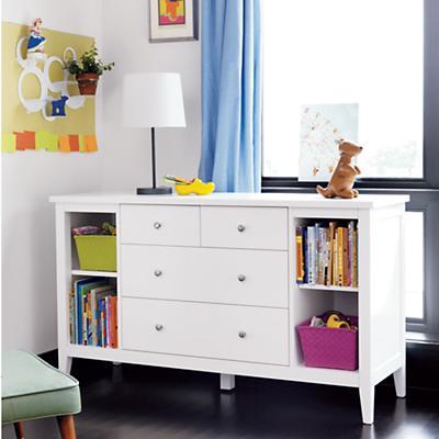 Blake Dresser (White)