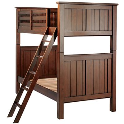 Walden Twin Bunk Bed (Chocolate)
