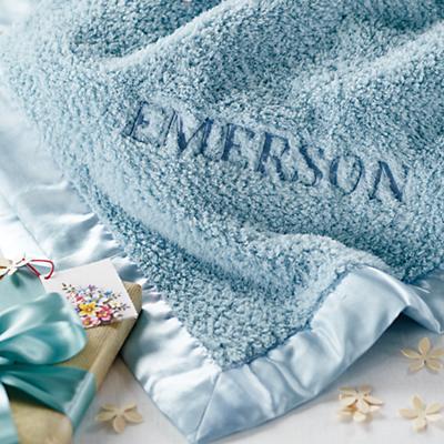 Cuddle Me Softly Baby Blanket (Lt. Blue)