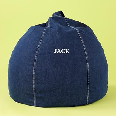 Blue Personalized Beanbag Cover Only