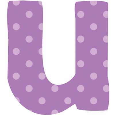 Fantabulous Fabric Letter u