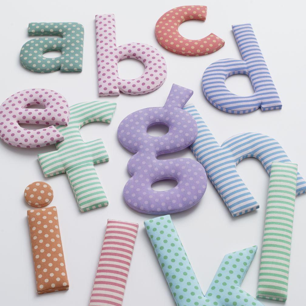 Fantabulous Fabric Letters