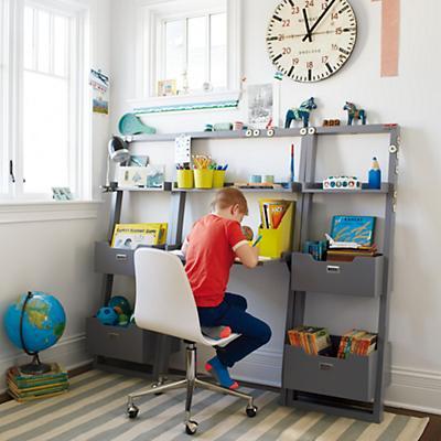 Little Sloane Leaning Desk (Grey)