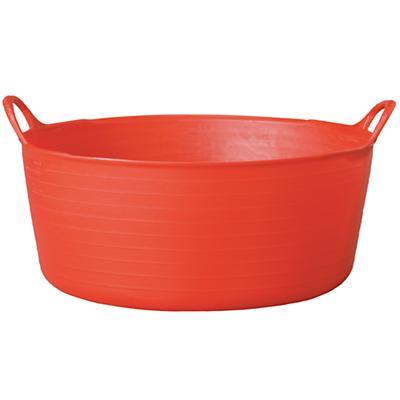 Small Shallow Tubtrug® Tub (Red)